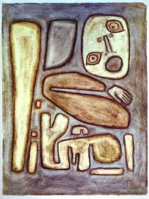 Outburst of Fear, Paul Klee (PD-US-not renewed, 1939)