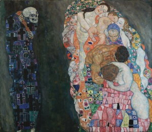 Photo: Death and Life, Klimt